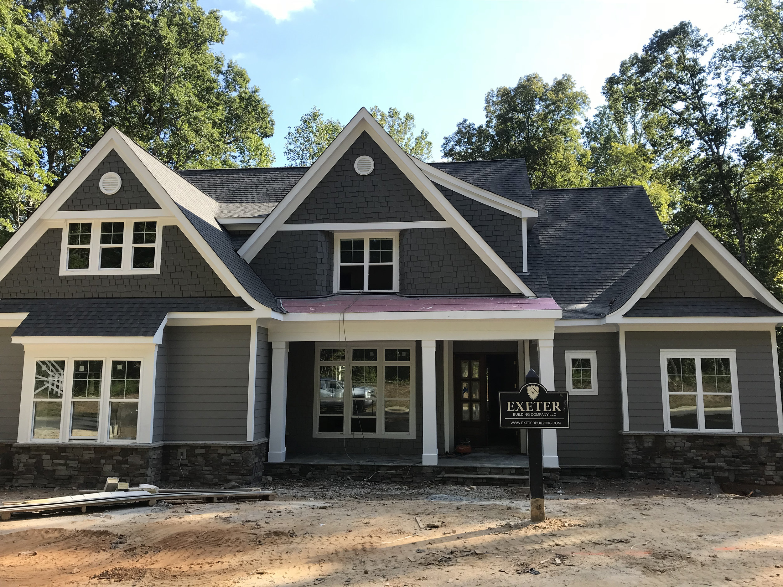 Wake Forest - Lakestone - Premier Custom Homes built by Exeter Building Company