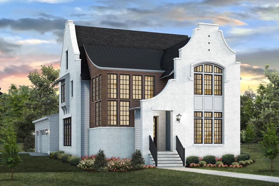 Downtown Raleigh - ITB - 3518 Catalano Place - Luxury Custom Homes built by Exeter Building Company