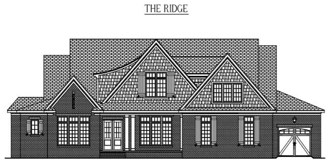 "THE RIDGE: 4906 Sq/Ft    70"" Wide/67"" Deep"