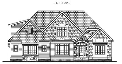 """SHELTER COVE: 3194 Sq/Ft    57"""" Wide/62"""" Deep"""