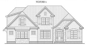 """WEXFORD A: 3089 Sq/Ft    56.6"""" Wide/58.4"""" Deep"""