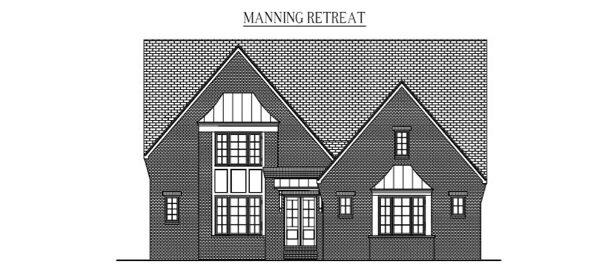 "MANNING RETREAT: 5180 Sq/Ft    53"" Wide/98"" Deep"