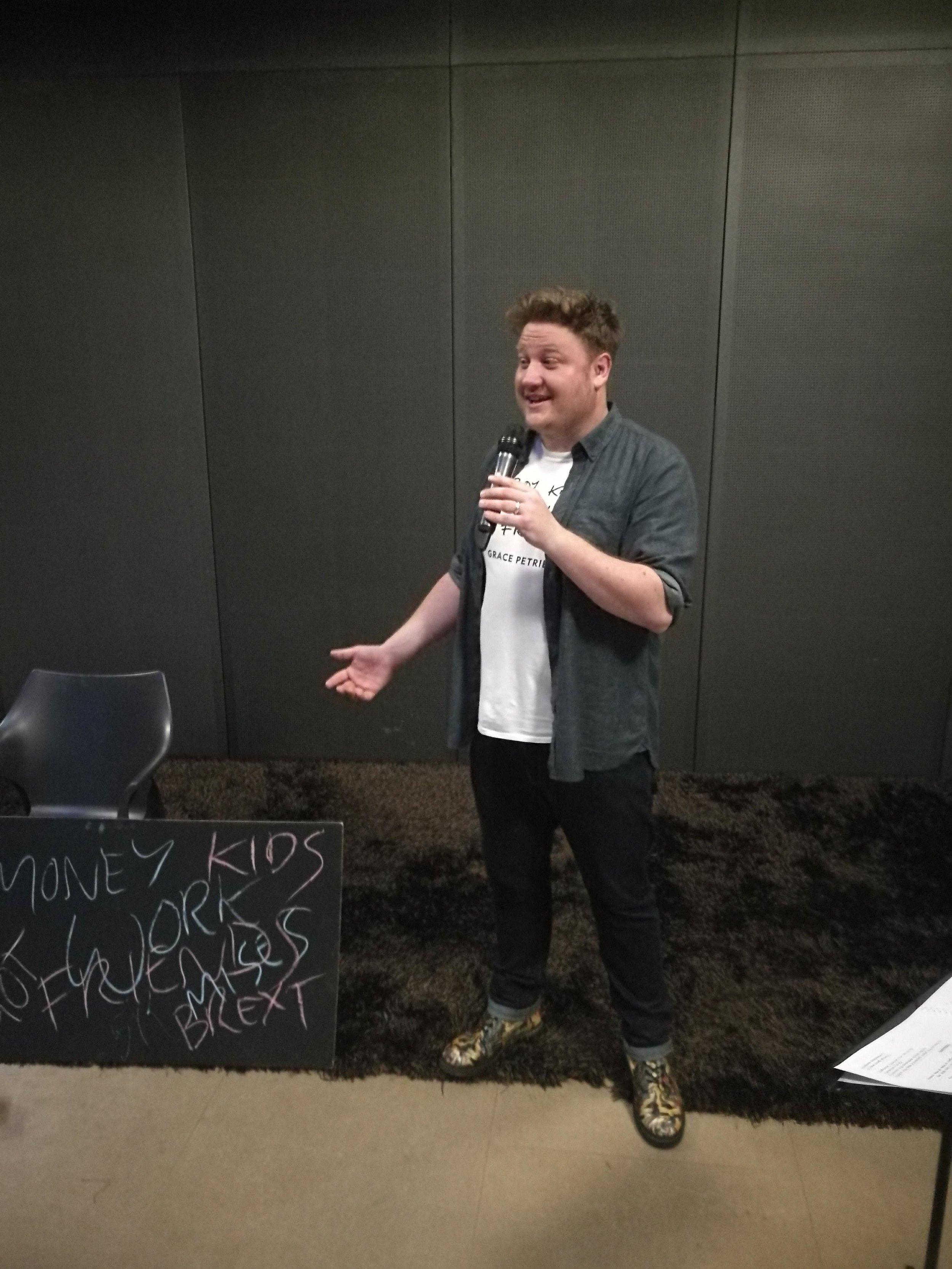 Rain Dance Scratch as part of the Little Ed Fringe, Derby, 2018
