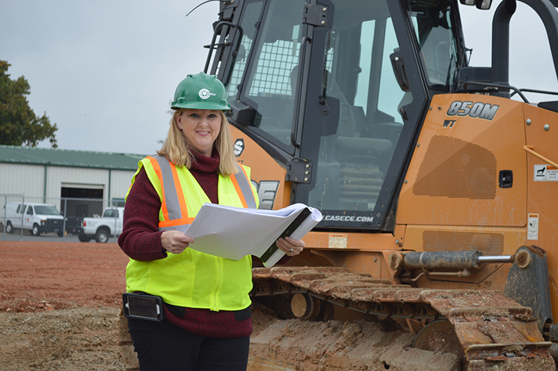 Dena Stone was one of the first graduates of the construction management and building sciences program.
