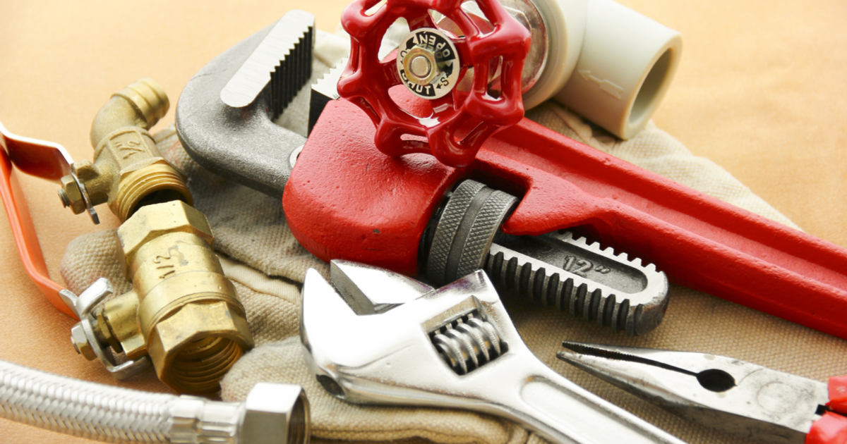 Plumbing Tools for any home
