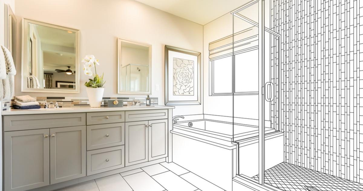 Bathroom renovation in Norman