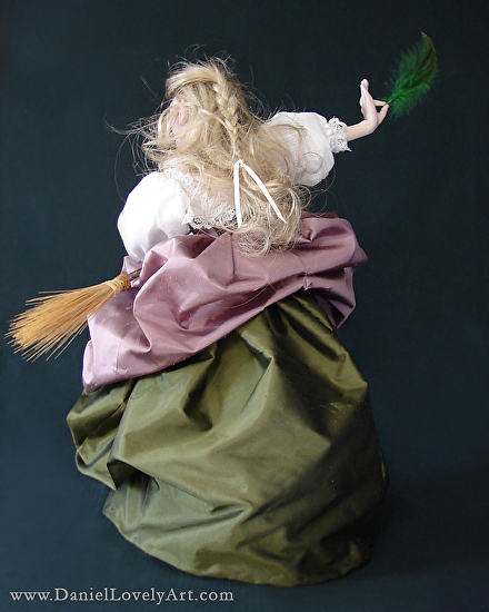 """The Elven White Witch - 14"""" X 5"""""""