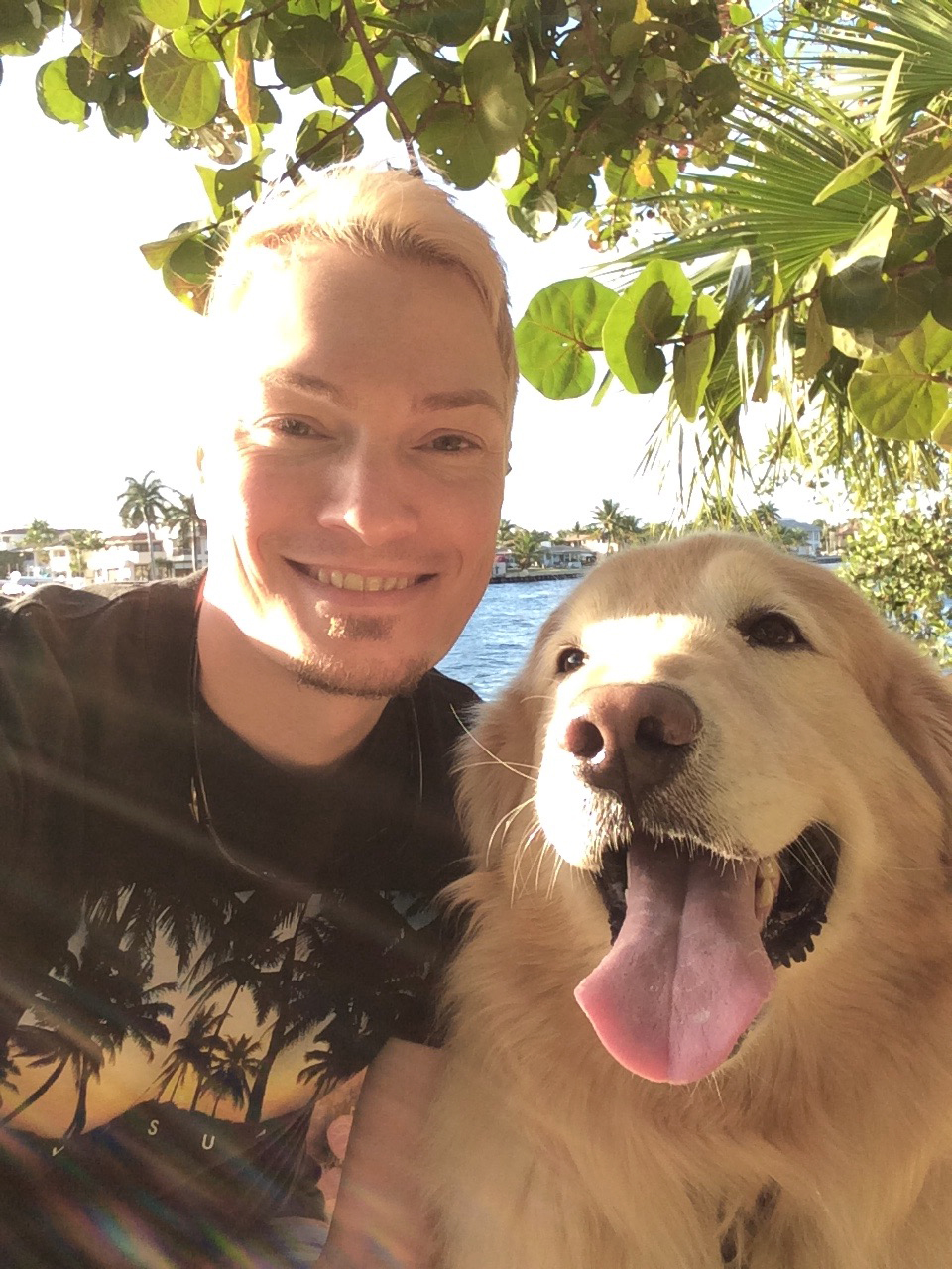 My Sunshine boy Max in Fort Lauderdale, Florida