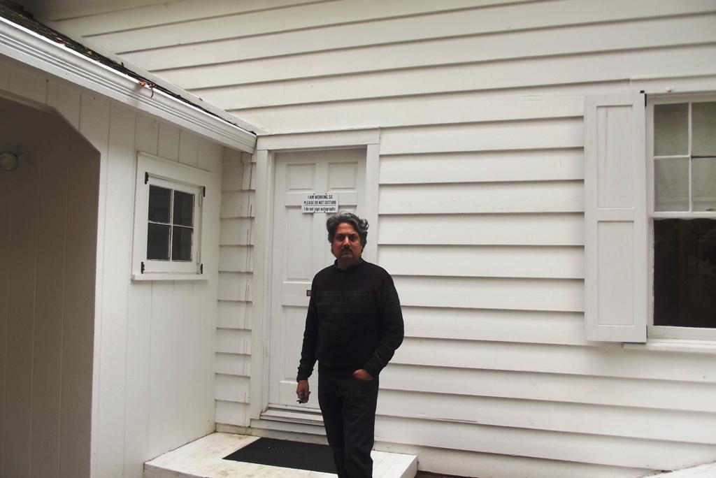 Outside Andrew wyeth studio