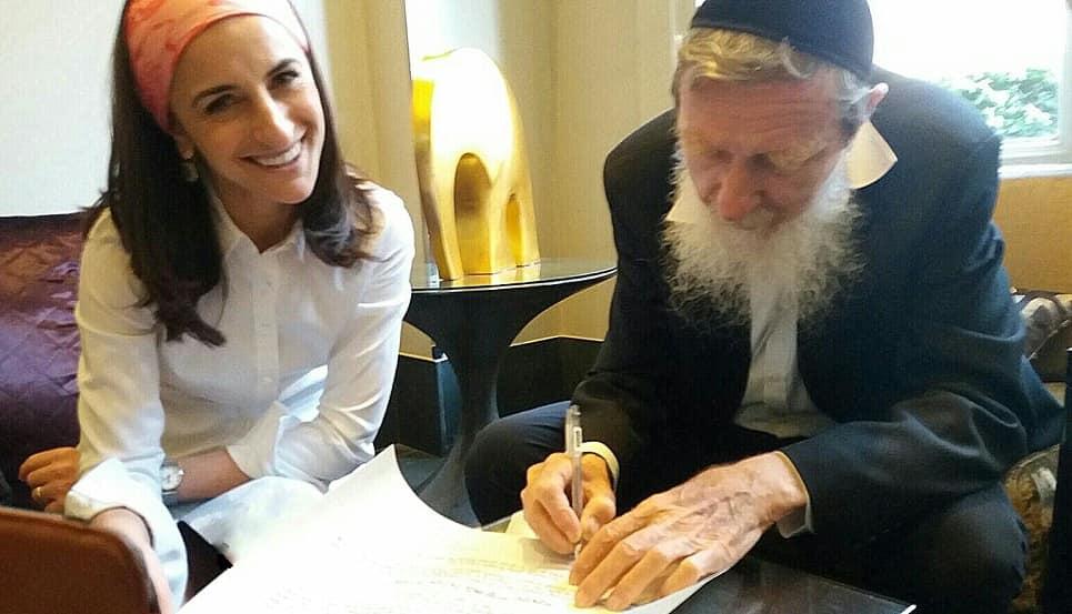 Rabbi Dina is the first female British Orthodox rabbi [credit: Yakir Brawer]