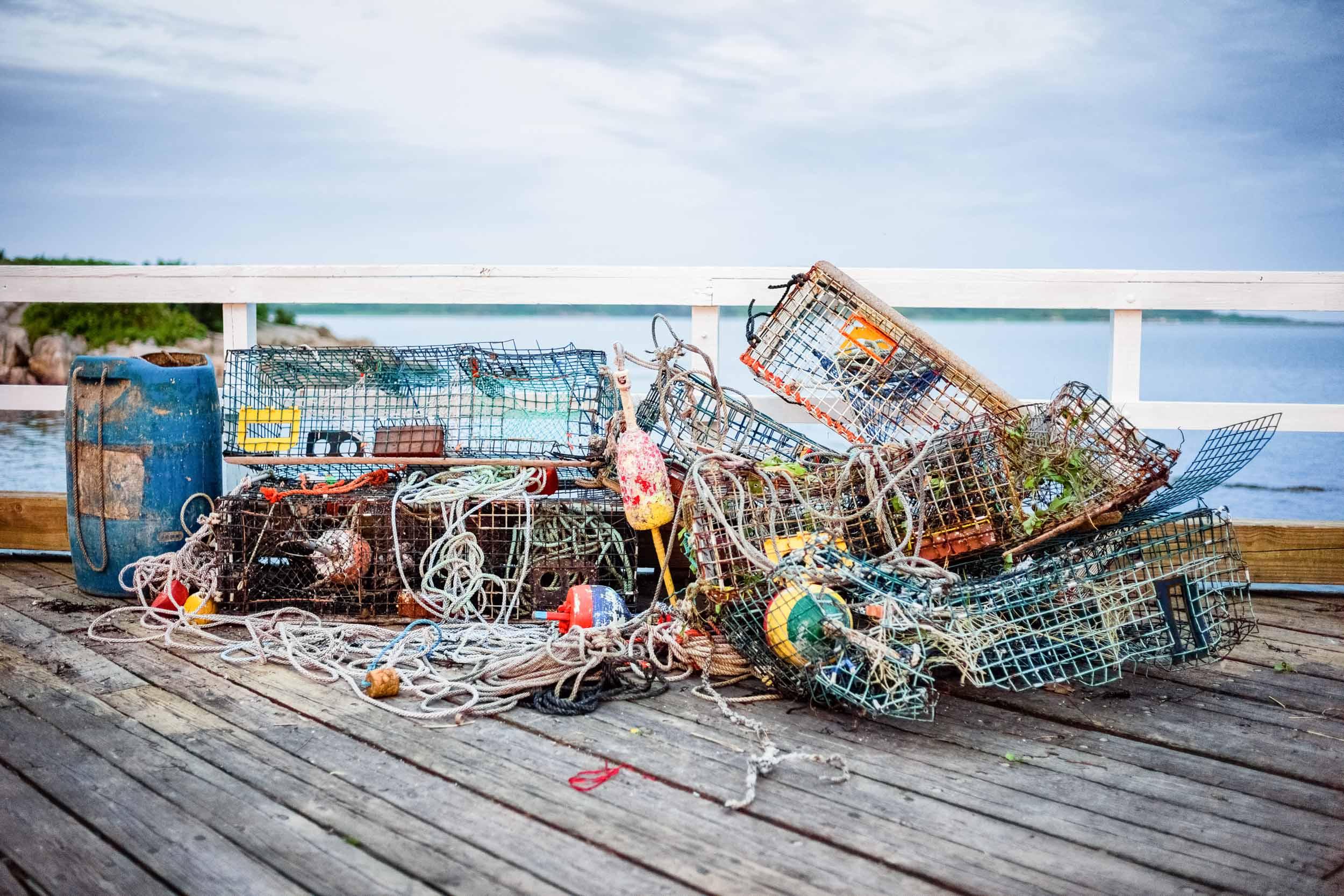 Mangled Lobster Traps