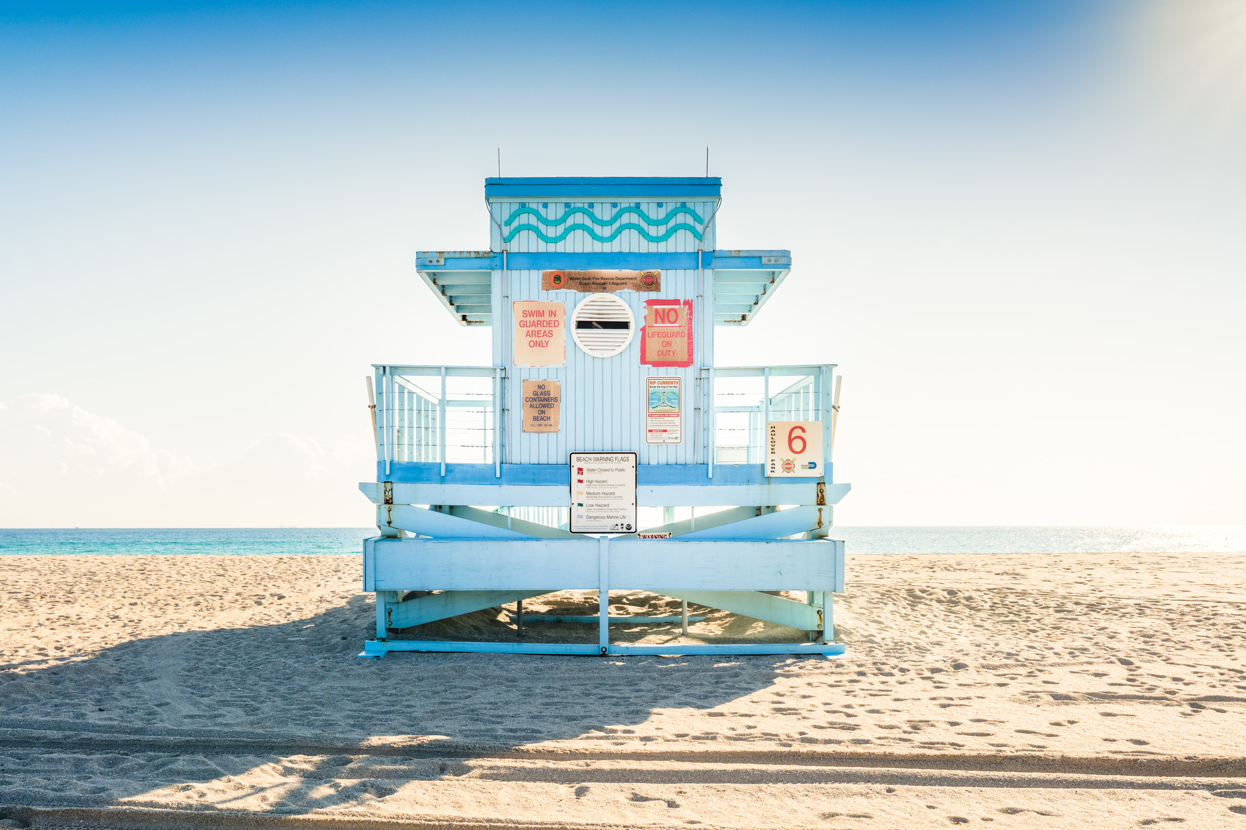 Haulover Beach Lifeguard Stand 6 (Series 1 of 4)