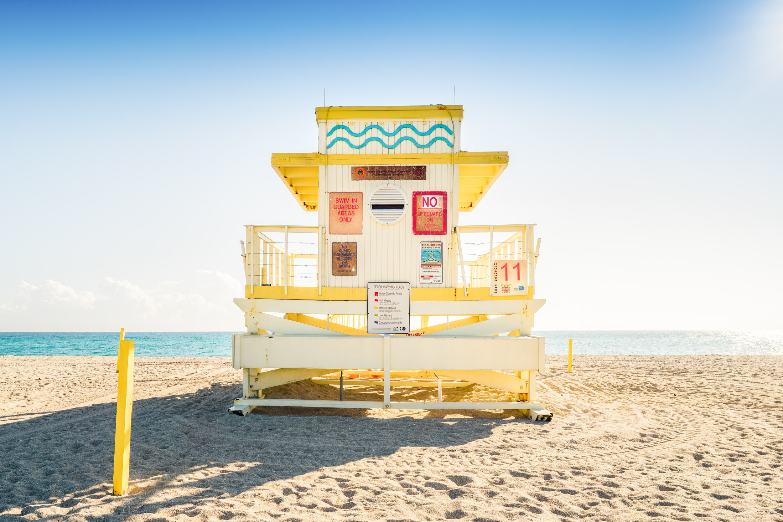Mendelson Fine Art Photography — LIFEGUARD STANDS OF MIAMI BEACH