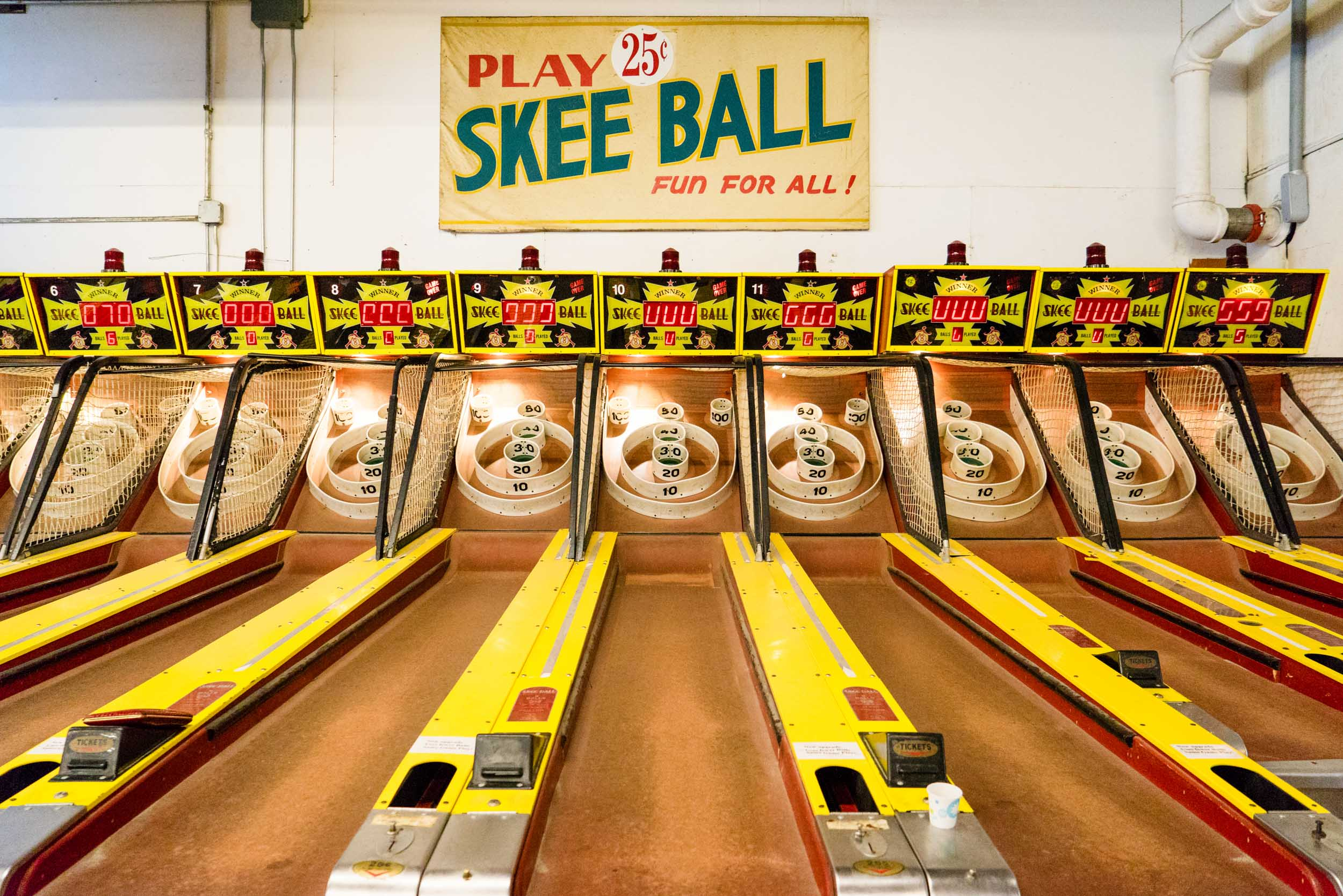 Skee Ball - Fun For All!
