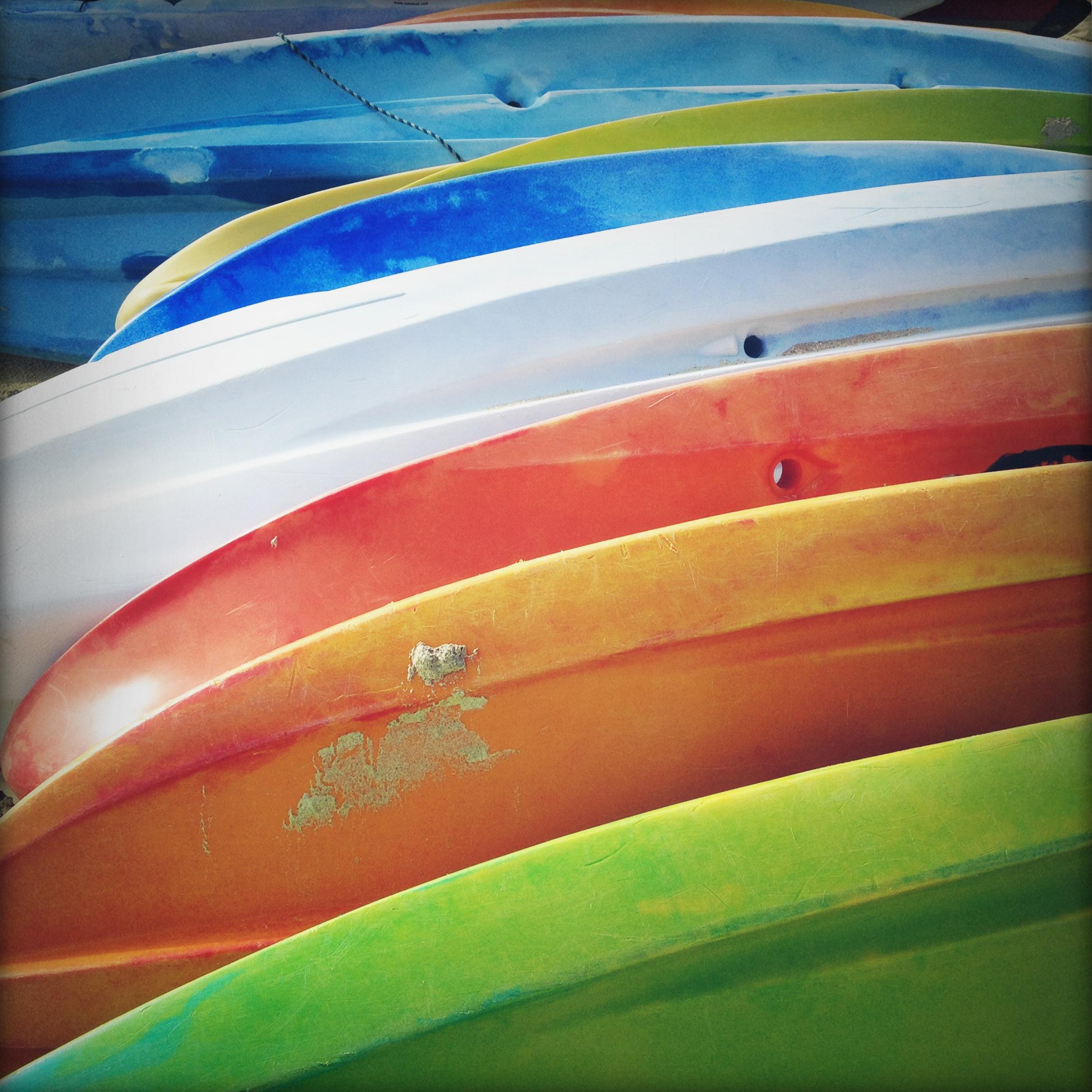 Kayak Abstract