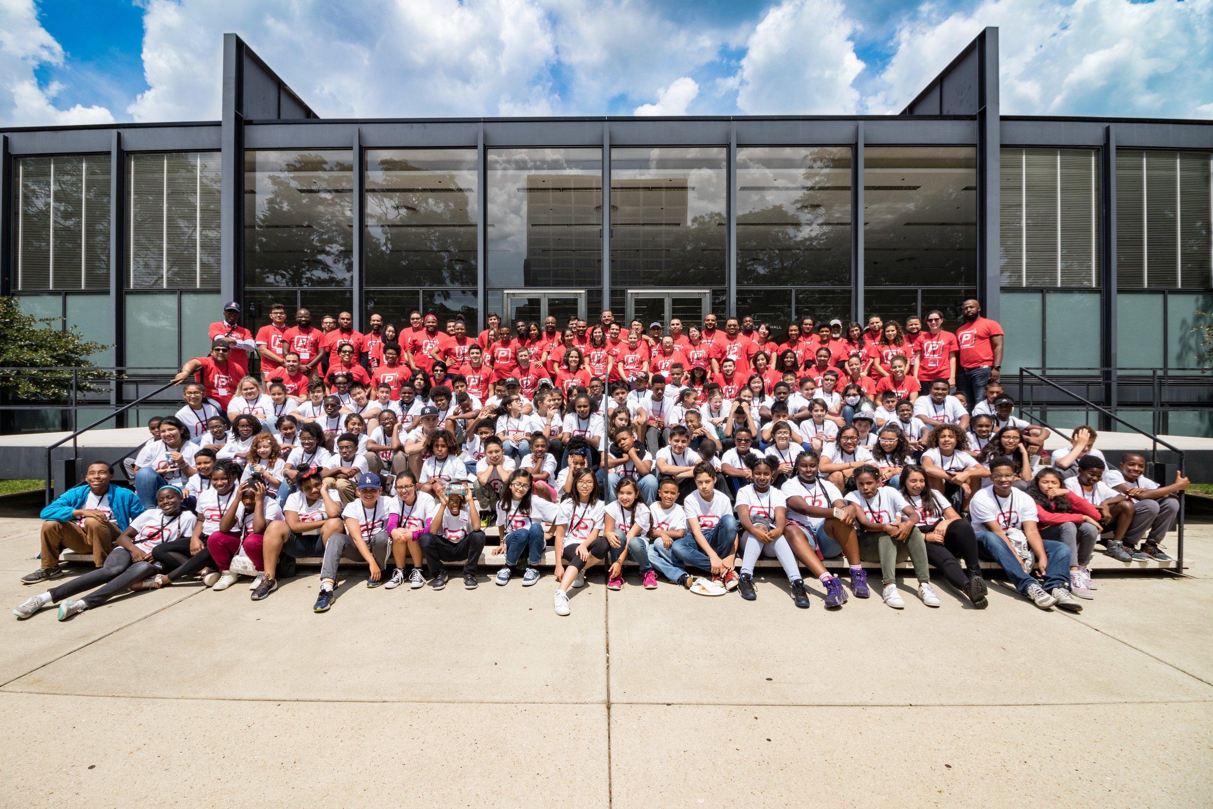 2017 CAMP - 5-Day Camp150 Registered Students113 Volunteers80% Scholarships (FREE)$121,000 Raised$75 Fee2 FAIA Keynote Speakers2 Field Trips