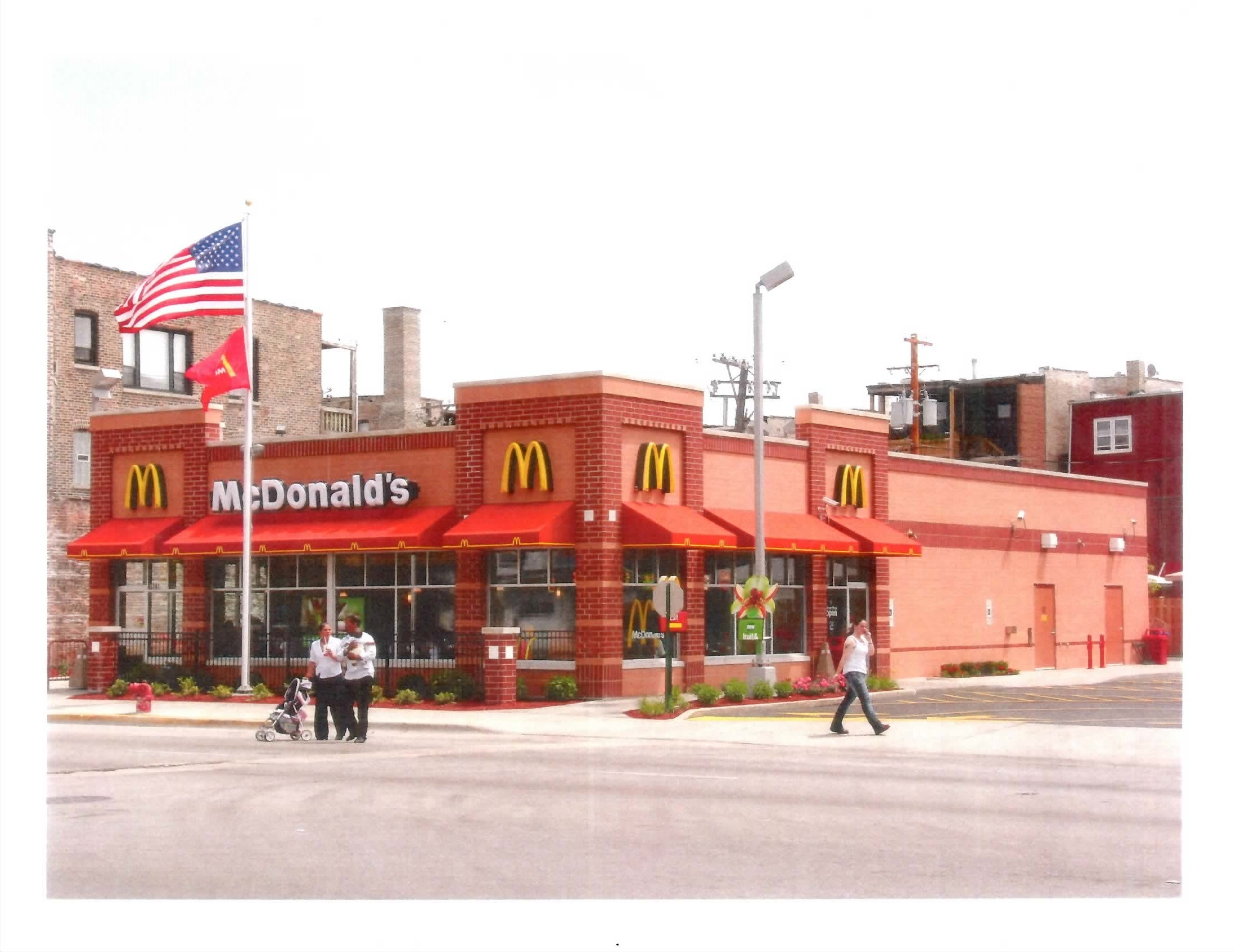 McDonald's Family Restaurant, Chicago, IL, completed July 2005    Role: Project Manager-Design and Construction