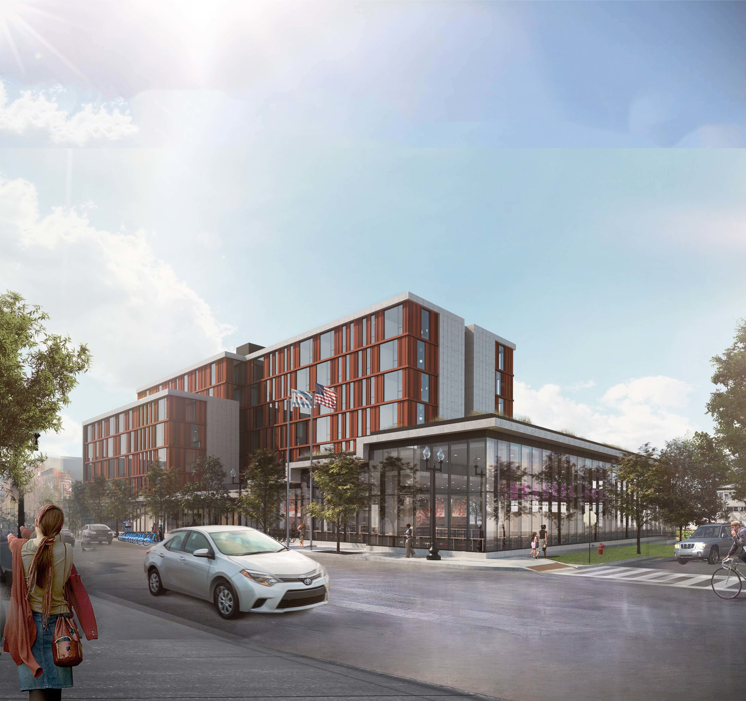 Taylor Street Library, Chicago, IL, to be completed December, 2018   Role: Technical Architect and Designer