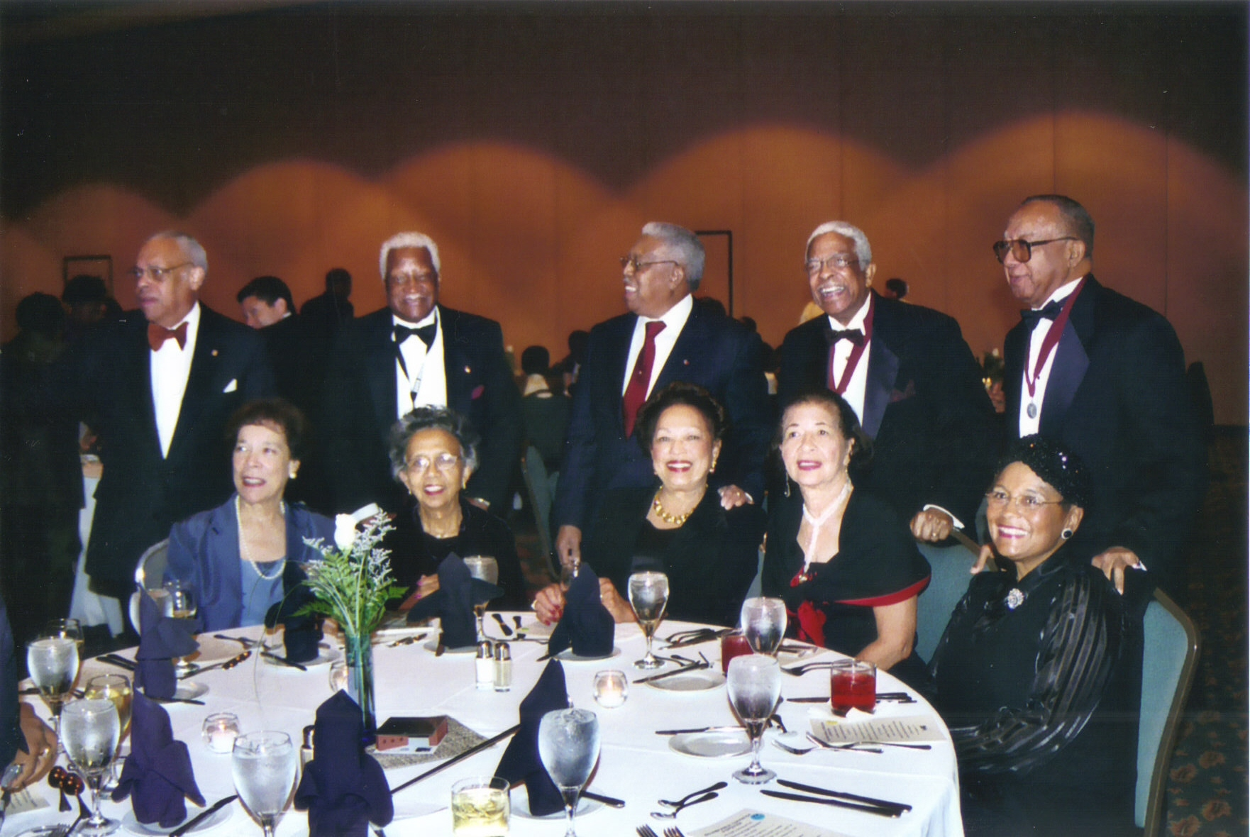 2003 AIA National Conference - [Left to Right] Jeh Johnson + Wife, Wendell + June Campbell, Mr. + Mrs. John Chase, Harold + Betty Williams, Mr. + Mrs. Horace Cantrell
