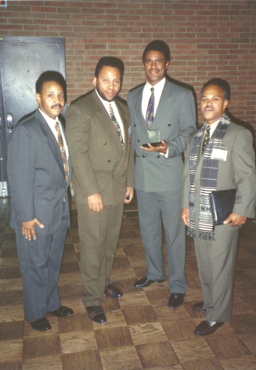 1991 - [Left to Right] Billy McGhee, Erroll O'Neil, Mike Rodgers, Ron Garner