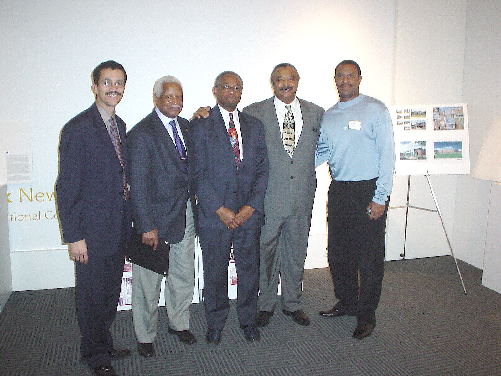 2005 - [Left to Right] Eben Smith, Wendell Campbell, Charles Smith, Bill Brazely, Mike Rodgers