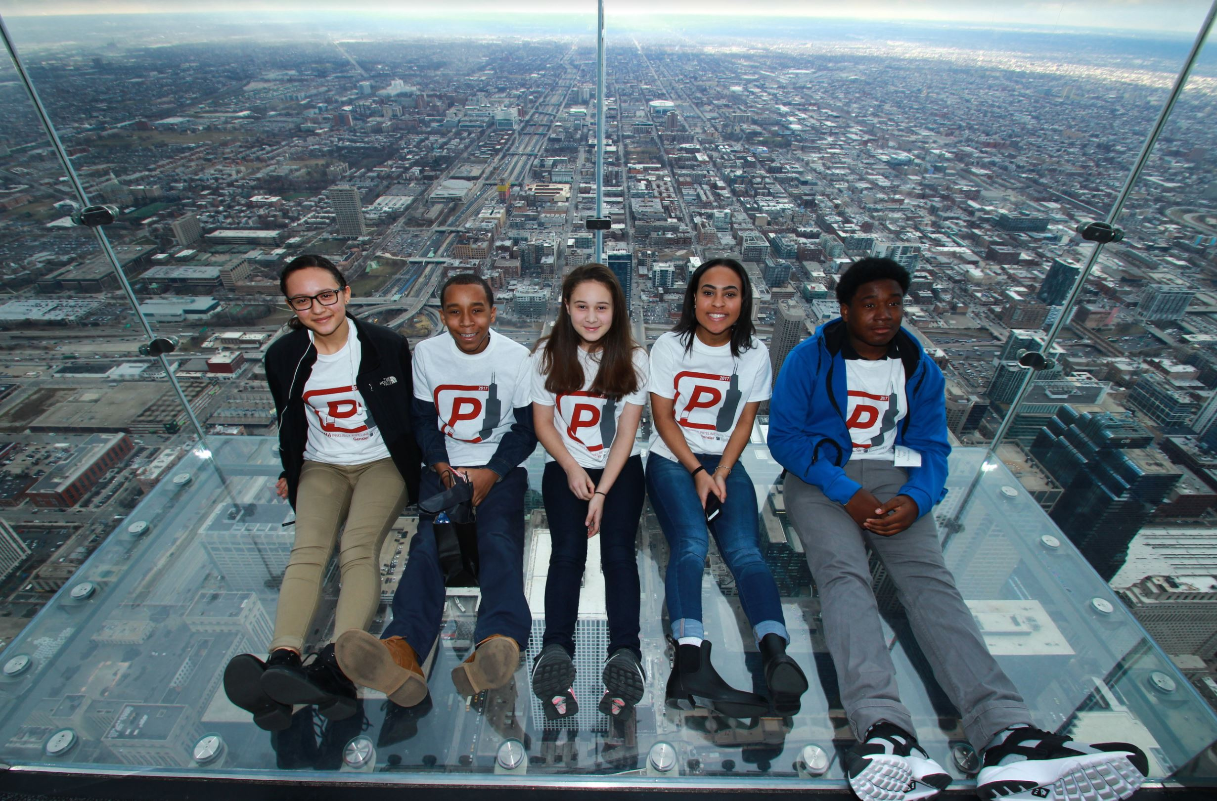 2017 - Project Pipeline Summer Camp - Willis Tower Tour