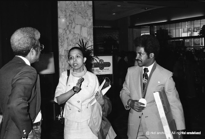 1976 - June and Wendell Campbell - 1976 Philadelphia AIA Conference