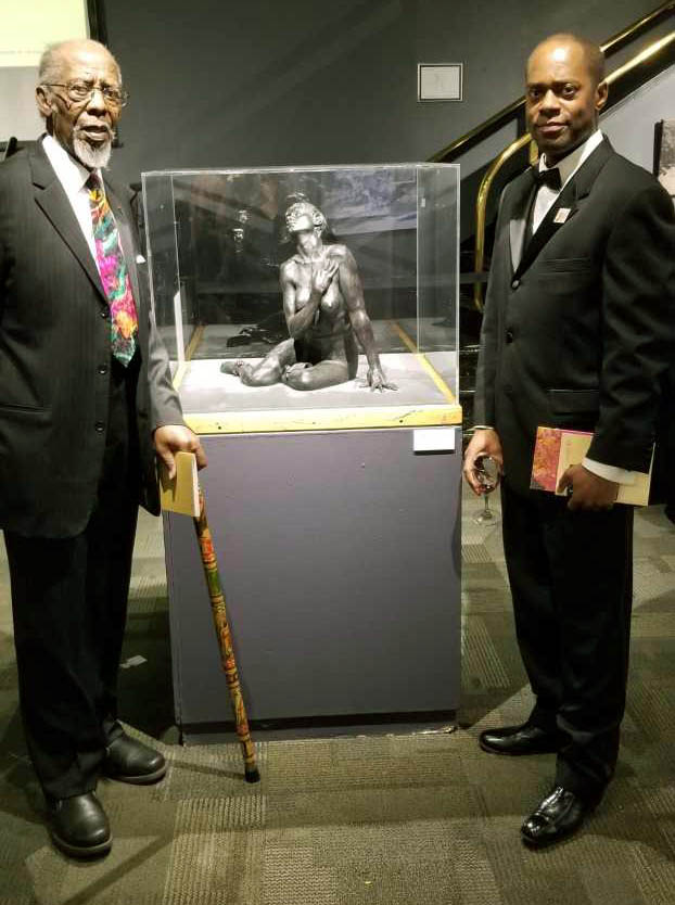 Douglas R. Williams (1938-2019) and son, Doug Williams - Black Creativity Juried Art Exhibit - Museum of Science and Industry - 2018