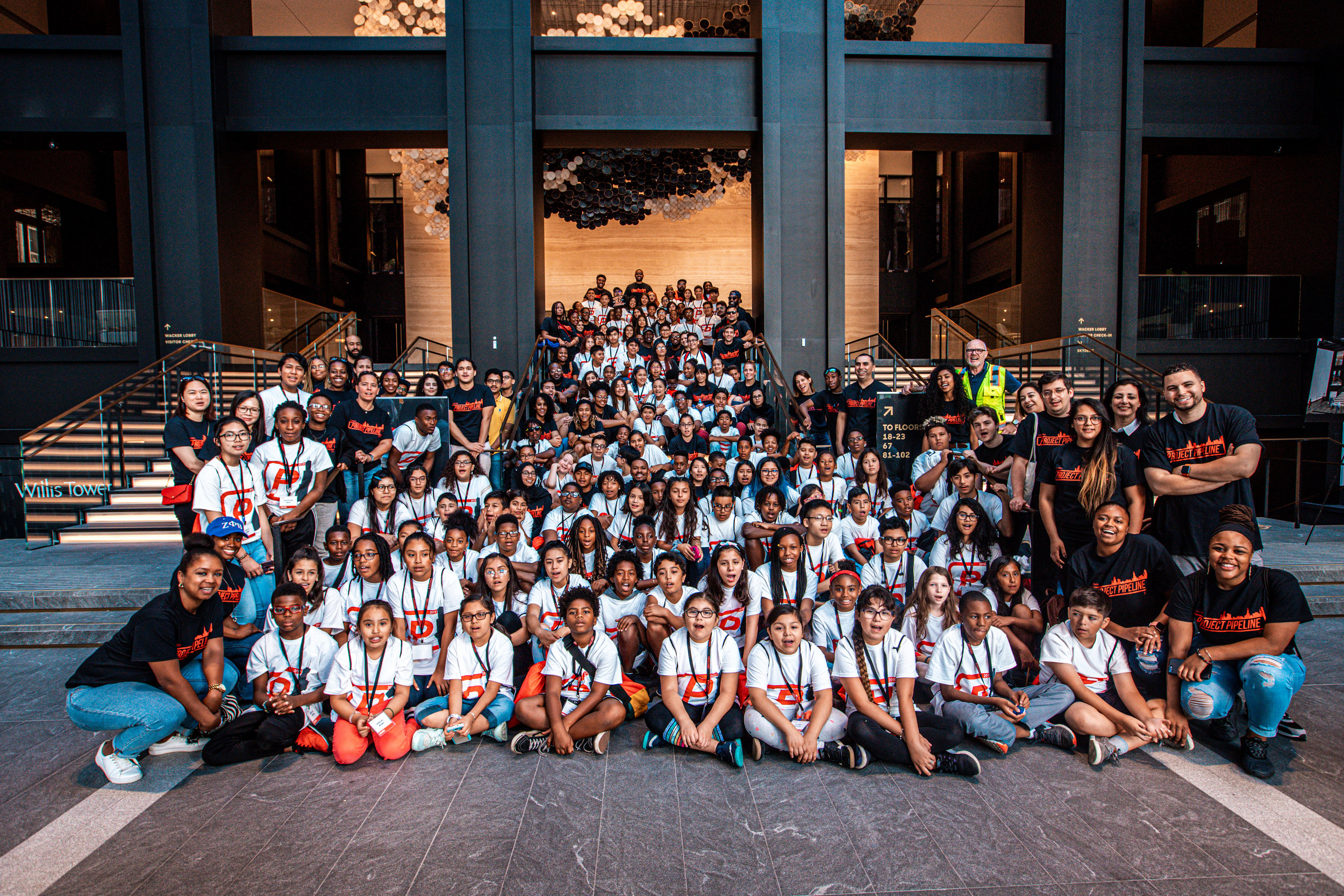 2019 Project Pipeline Summer Camp - Willis Tower Visit