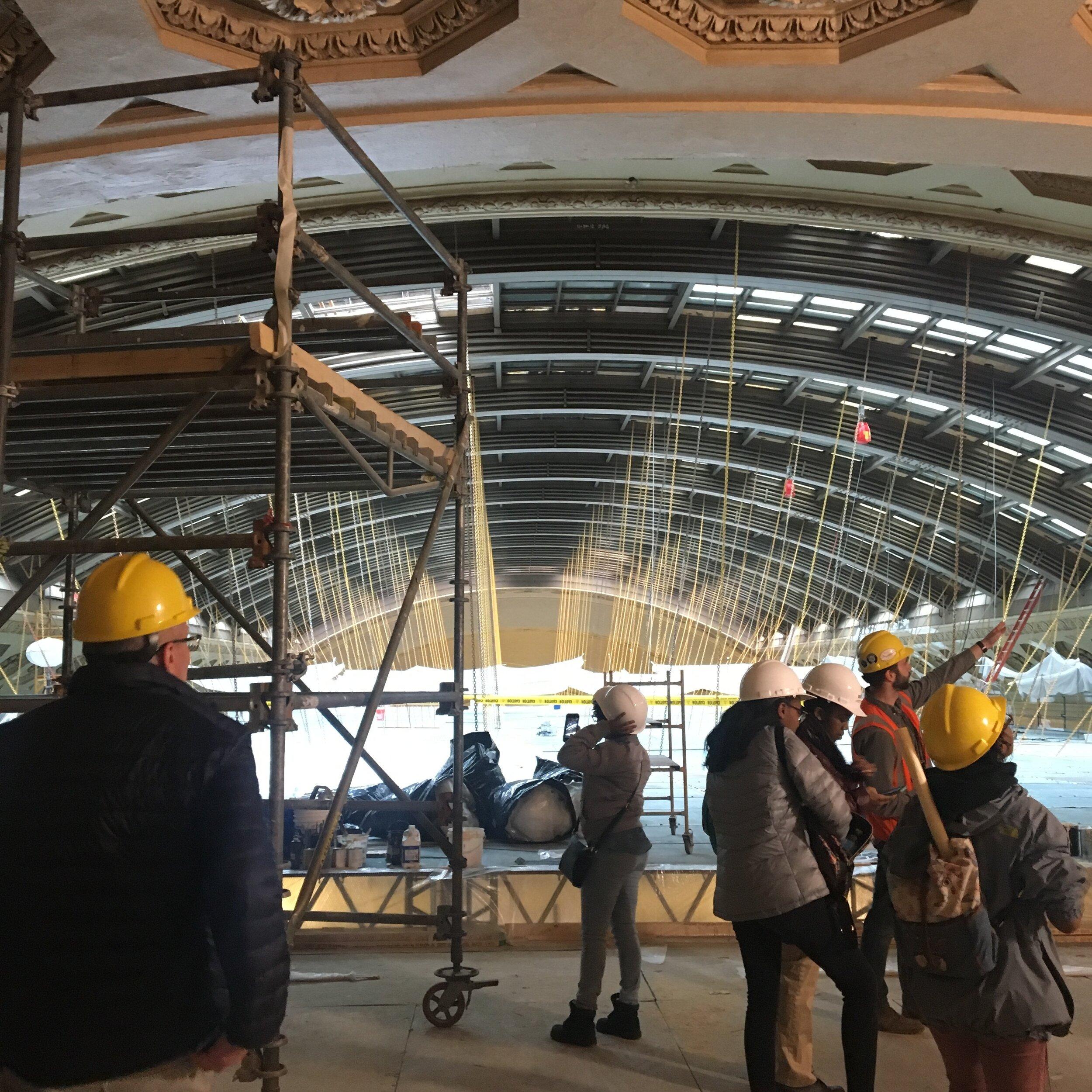 Union Station Renovation Tour