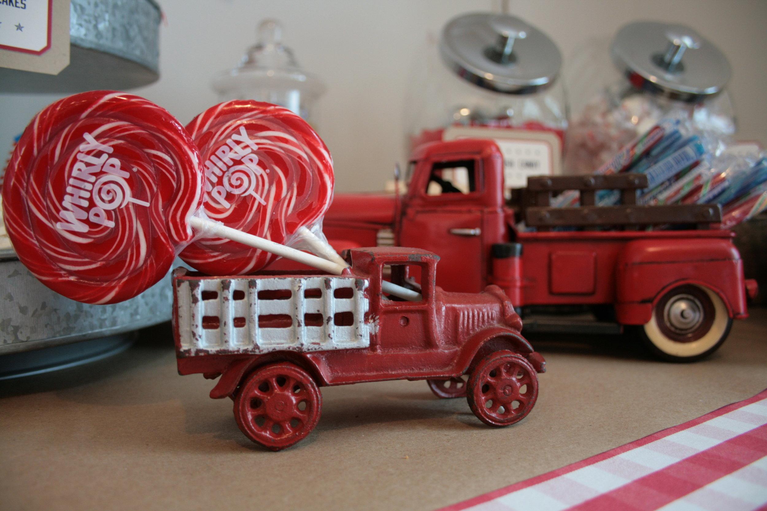 little antique truck