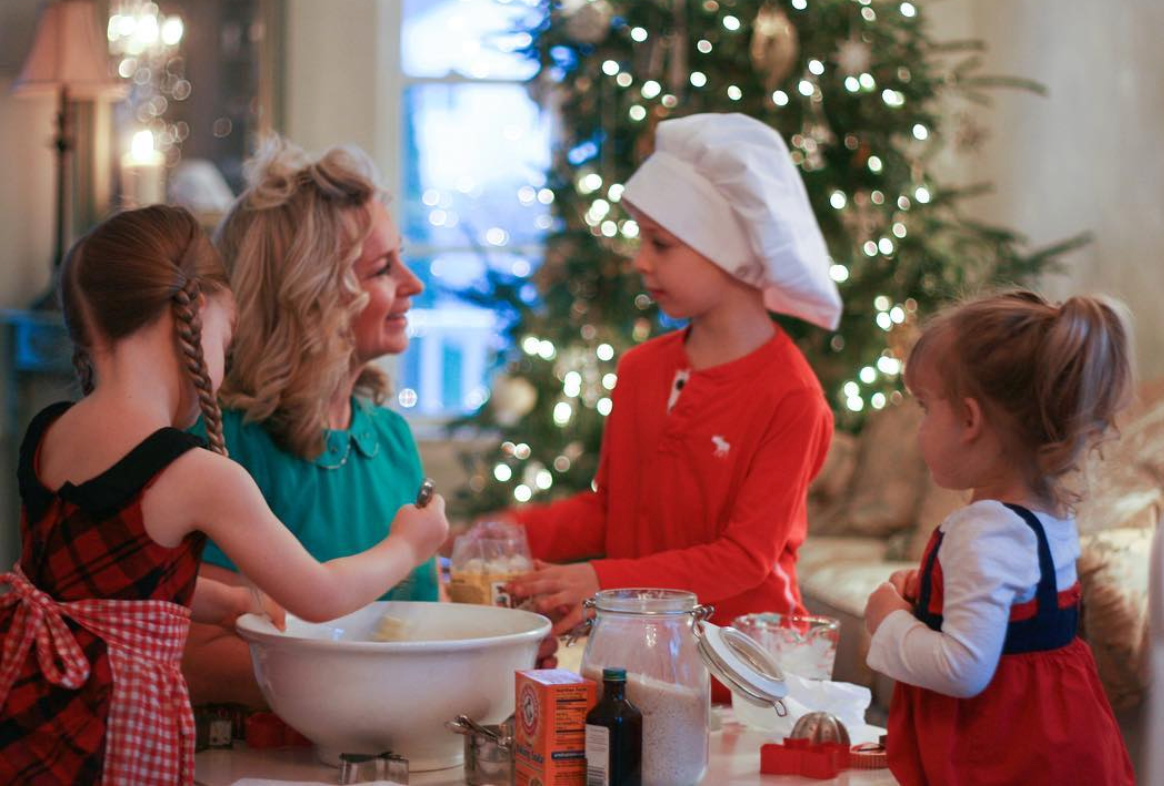 Christmas Cookies with their Grammy, the ultimate gluten-free baker