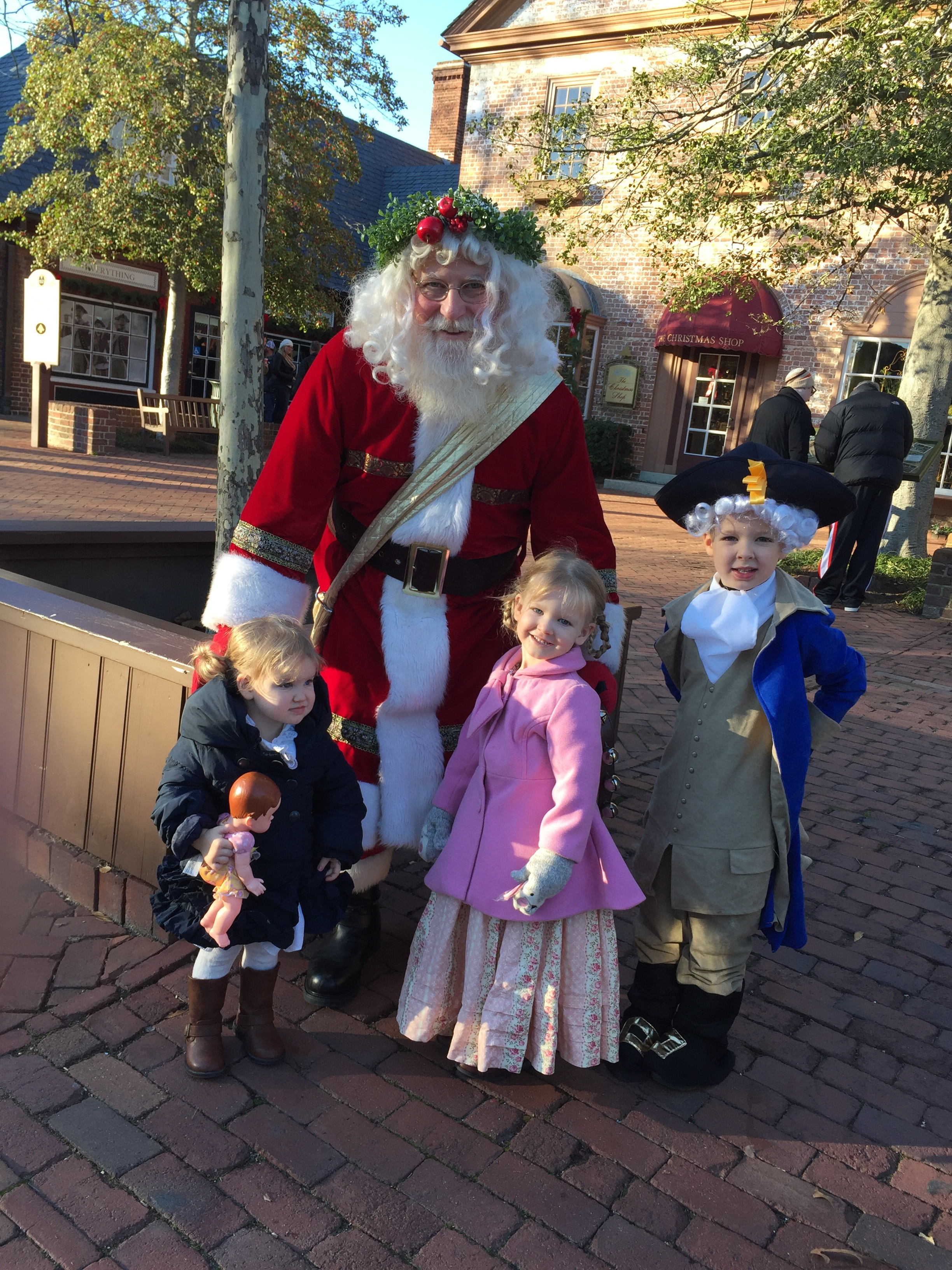 Colonial Santa Claus