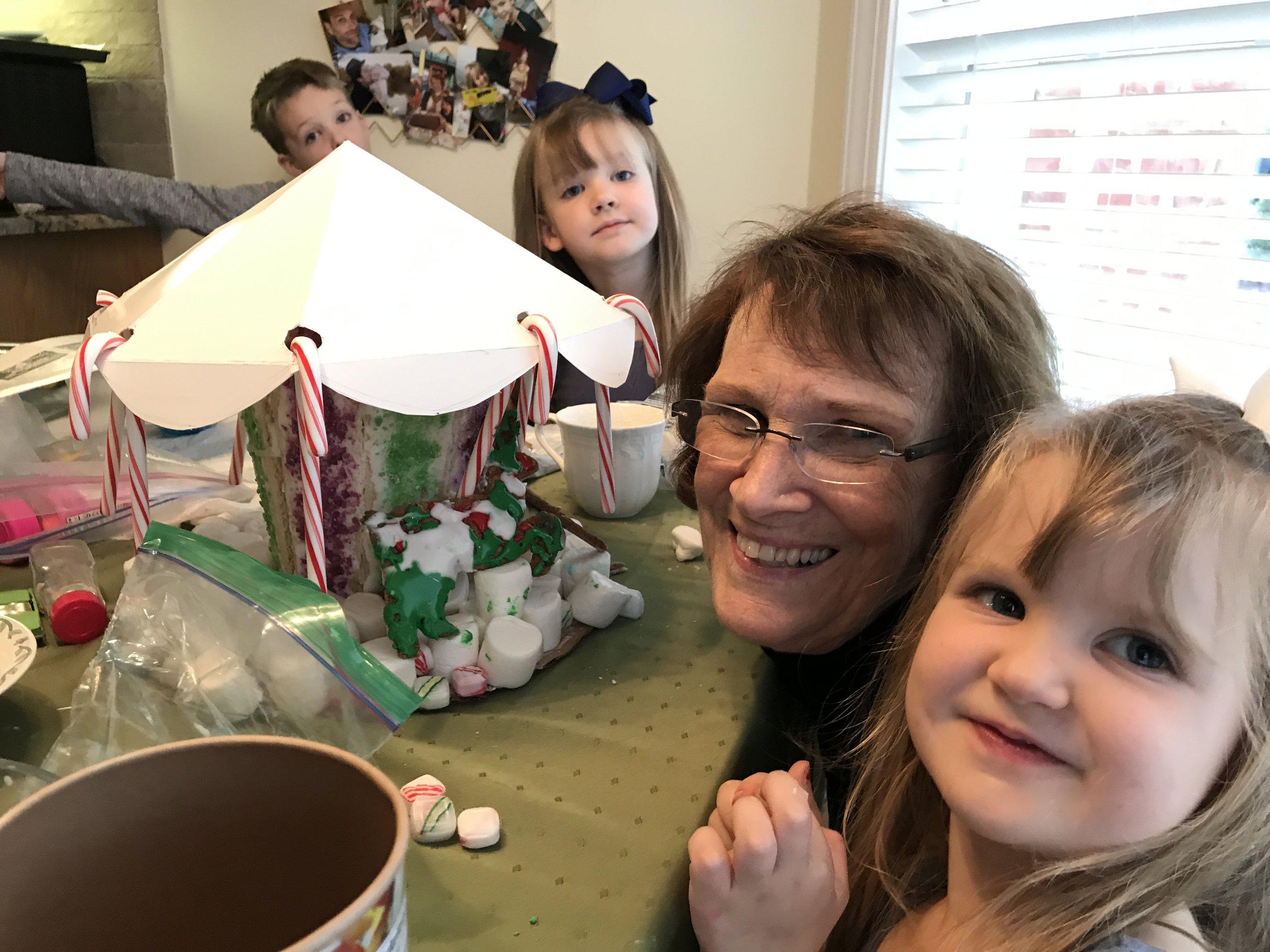 We visited the kids' Great Grandma M in Lynchburg, VA.