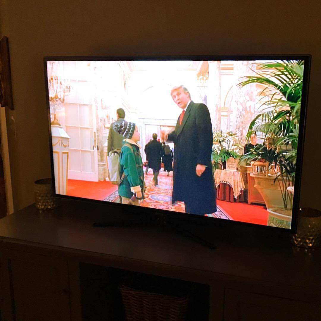 Home Alone 2 is a favorite fun Christmastime movie to watch with friends!