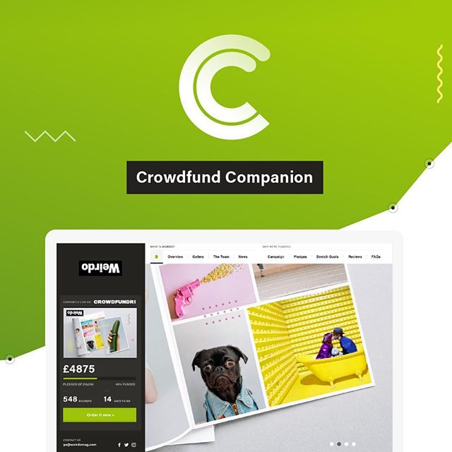 So many crowdfunded websites have crappy websites (or none at all)… so I decided to build a UI Kit to help — Crowdfund Companion  Built in #AdobeXD - it's now free to download! (Link in bio)  #adobePartner #Design #WebDesign #UI #UIkit #Download #Free #Crowdfund #Crowdfunding #Website #UIdesign #AdobeXD #Prototype