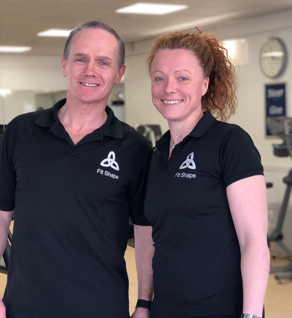 We look forward to meeting you soon - Becky & Nige McDermott (Mrs & Mr Fit Shape)