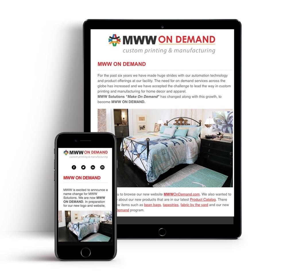 Newsletter Design in Asheville - Mailchimp and Active Campaign Design