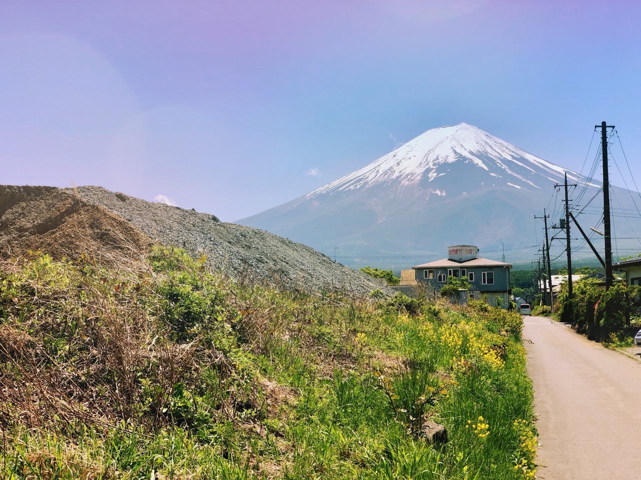 Stunning Mt. Fuji!