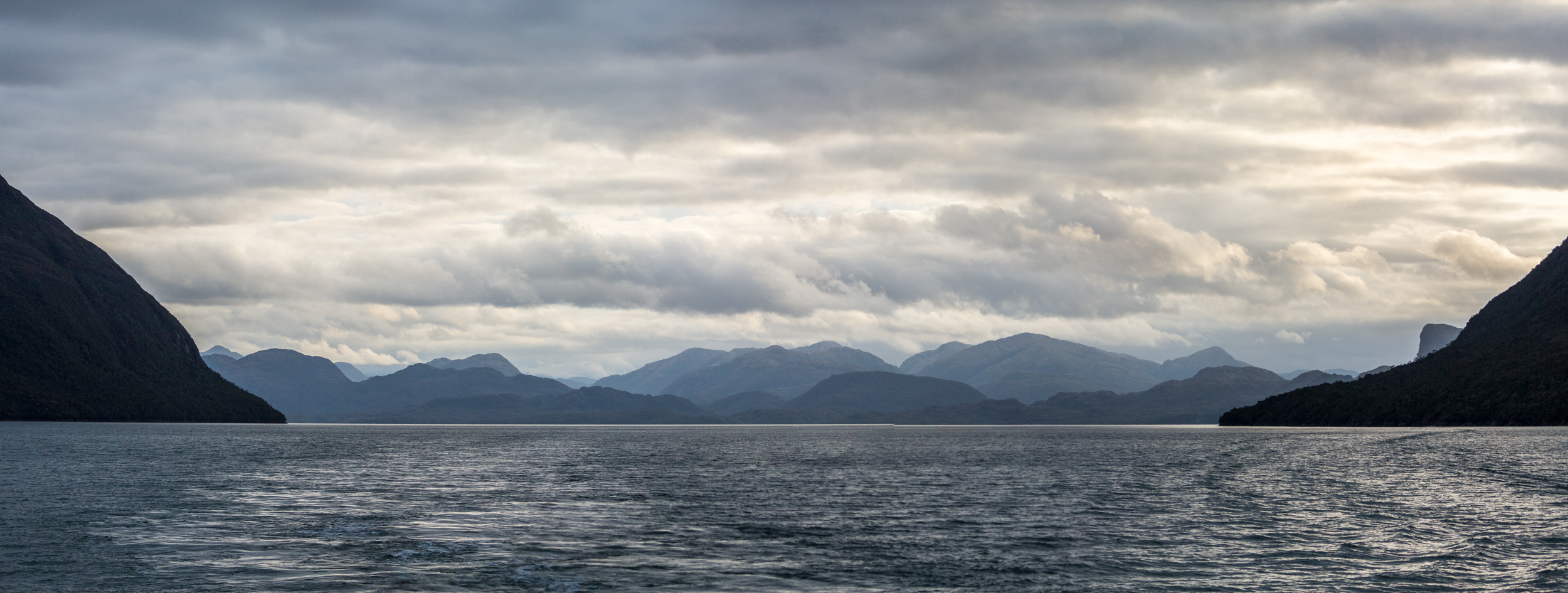 THE RUGGED COAST OF THE BERNARDO O'HIGGINS NATIONAL PARK SEEN FROM THE FERRY - Bernardo O'Higgins National Park covers an immense area of islands, channels and fiords, many of which are visible from ferry crossings that travel north and south through Patagonia.