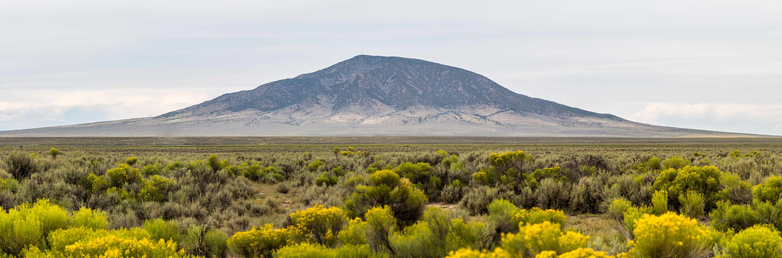 ute mountain rising from the taos plateau - Ute Mountain in Rio Grande del Norte National Monument. This 10,093 foot peak stands alone above the sagebrush along the northern border of New Mexico, providing views of the Rio Grande Gorge below. It is the highest point within New Mexico's BLM lands.