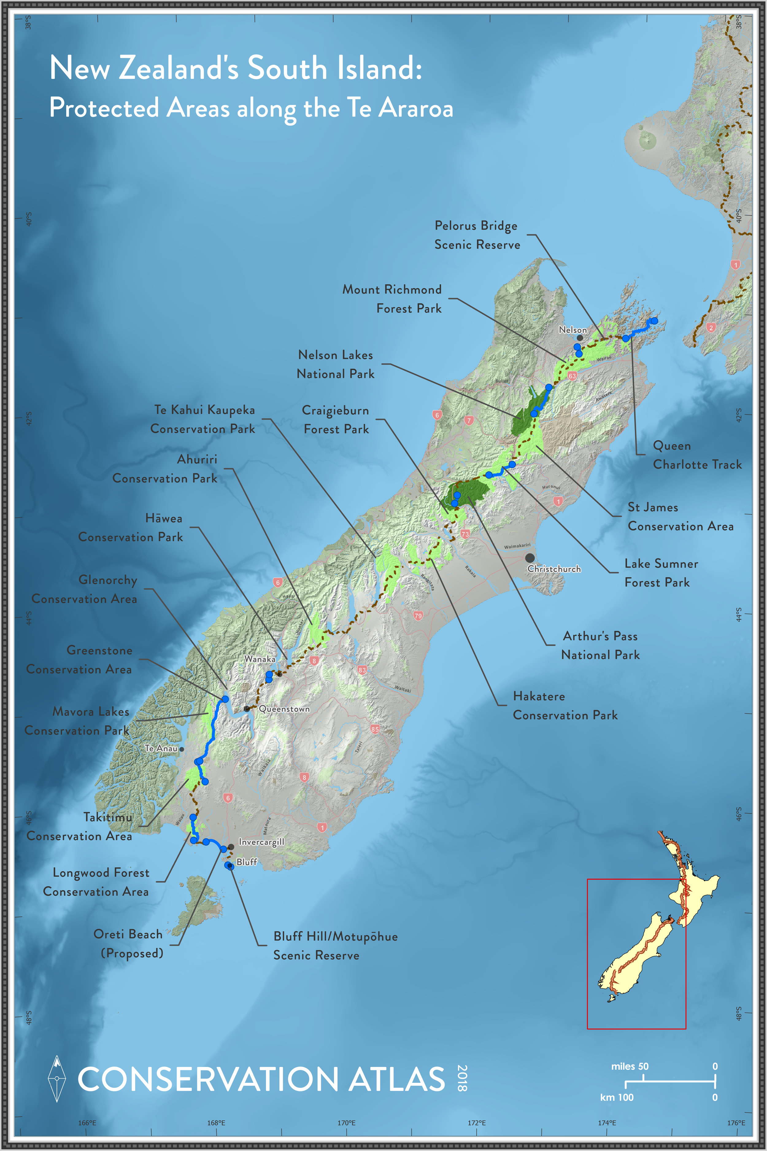 Categories of Protected Areas in New Zealand: - New Zealand's Protected Areas are managed under six laws in the country: Conservation Act 1987, National Parks Act 1980, Reserves Act 1977, Wildlife Act 1953, Marine Reserves Act 1971, and Marine Mammals Protection Act 1979.National Parks: Areas set aside for their
