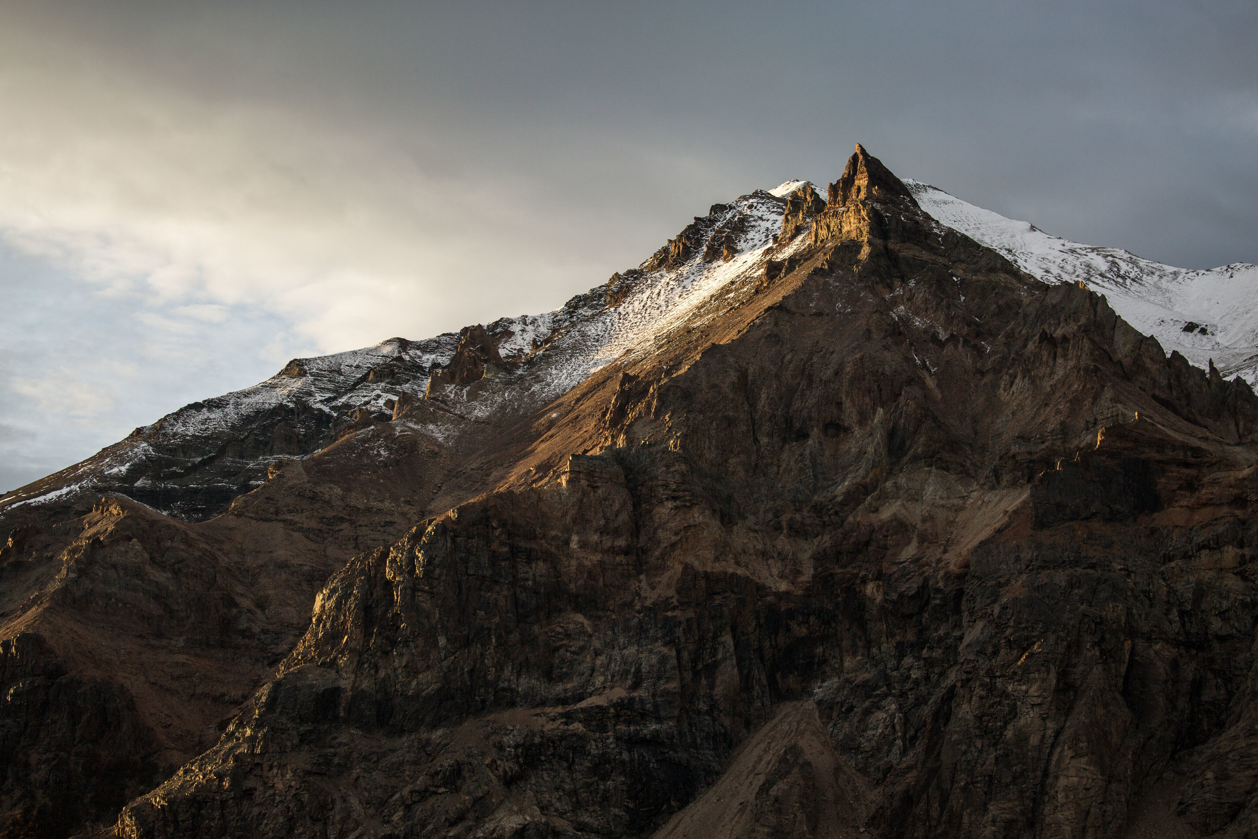 Peak in the Jeinimeni National Reserve, now part of Patagonia National Park