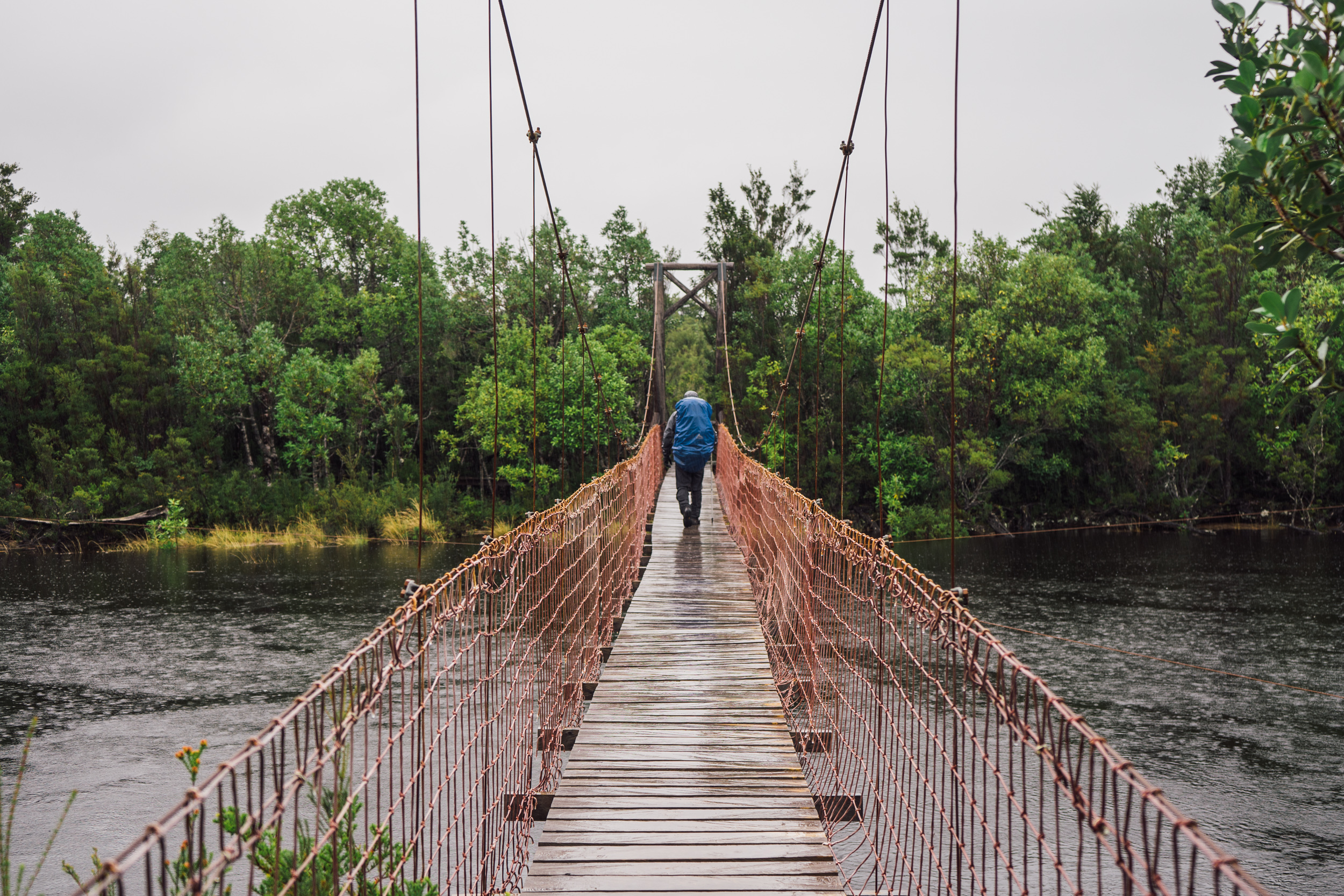 Day 1 of the hike in Tantauco Park on the Island of Chiloé  (photo by Andreea Lotak)