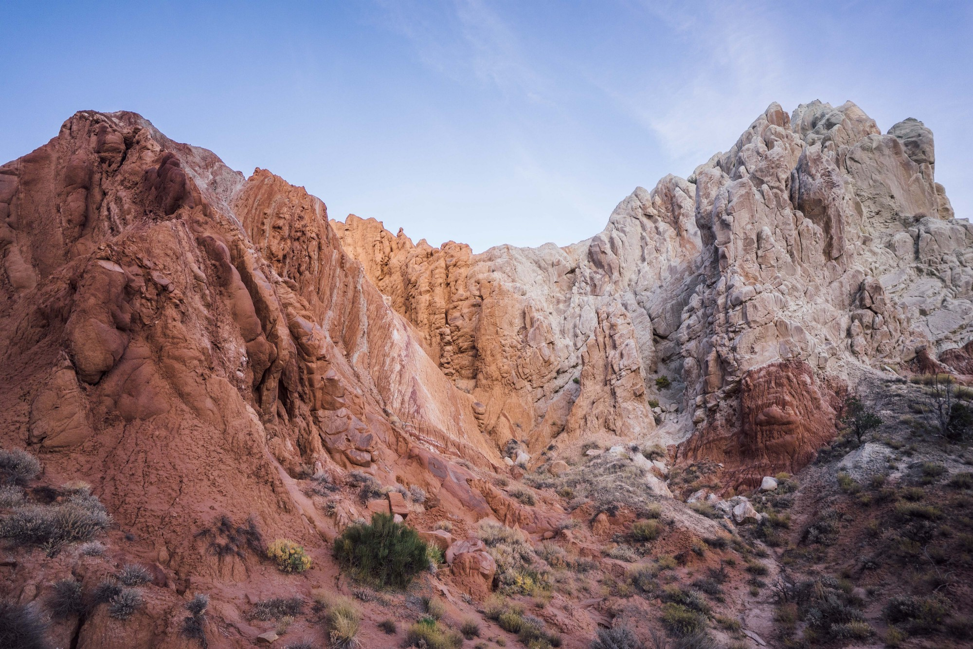 - Approaching the Cottownwood Narrows along the Cottonwood Road Scenic Backway, you are surrounded by an otherworldly landscape of colorful sandstone and rock formations.