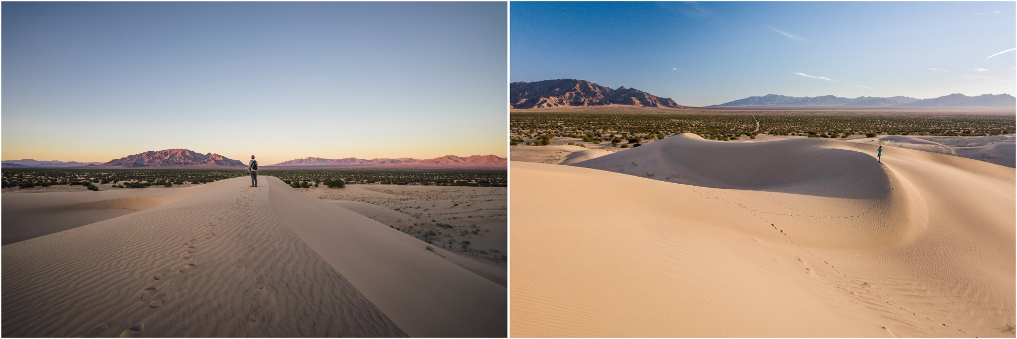 - Cadiz Dunes Wilderness in Mojave Trails National Monument. Whether you visit at sunset or at sunrise, the light on the dunes will make for an incredible landscape.