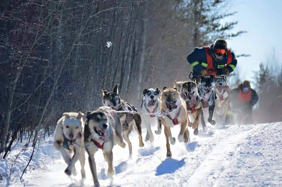 Cross Lake Manitoba Championship Race