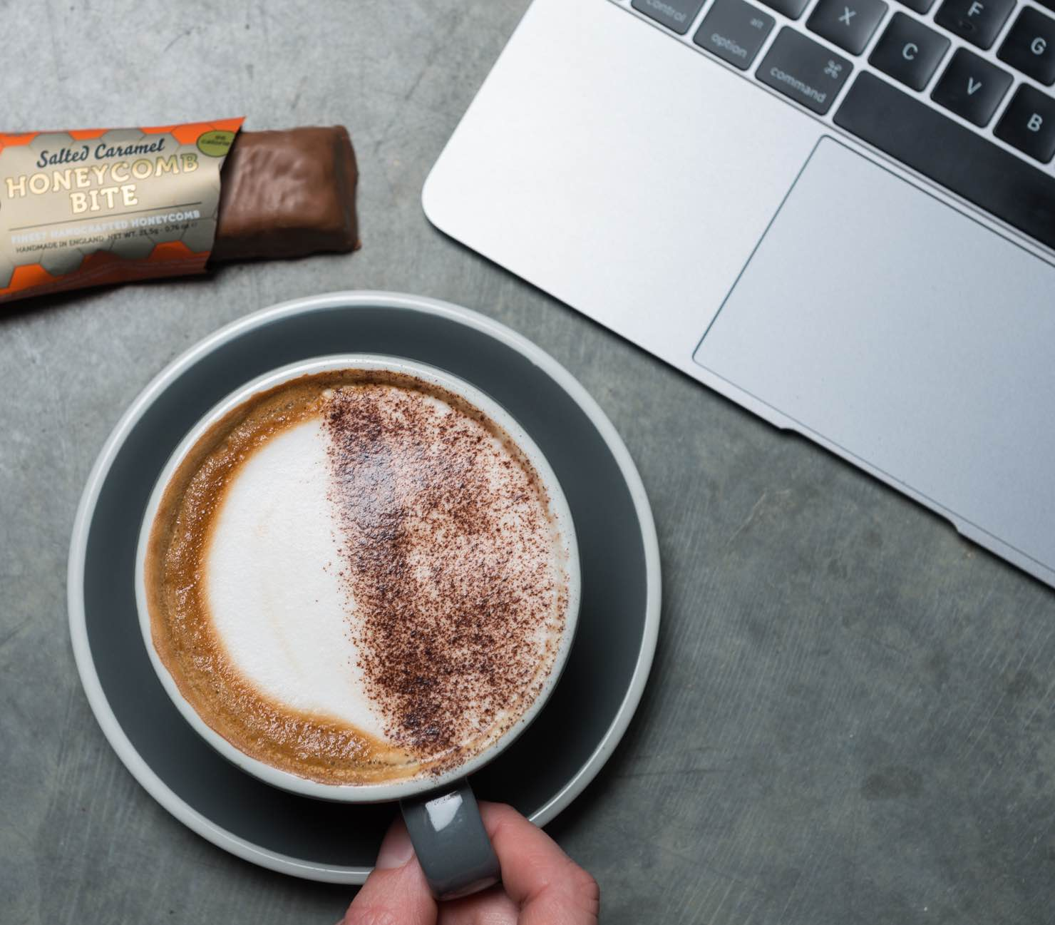 Mighty Fine Salted Caramel Honeycomb Bar Perfect with Coffee.jpg