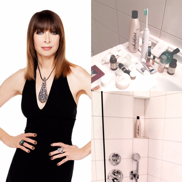 "We love actress, Illeana Douglas! Especially when she tells us ""I can't travel anywhere without my Christine hair products!"" Love these ""travel"" shots she sent to us!🌸🌸 @illeanarama #christinehaircare #pistolandstamen  #hair #shampoo #style #beauty #bossbabe #gloss #travel #conditioning #actress #celebrity #cool"
