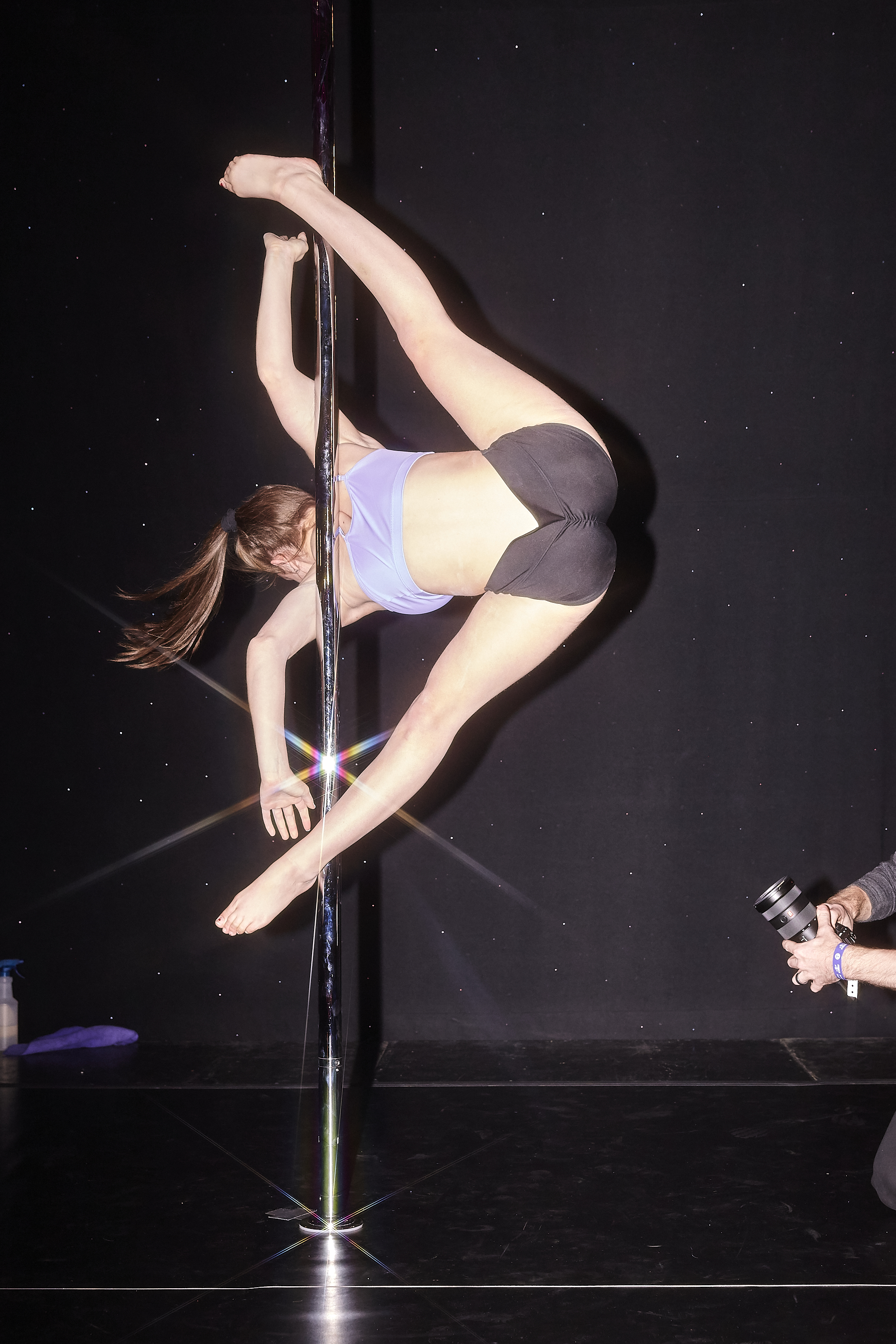 Arnold Sports Festival Competitive Pole Dancing